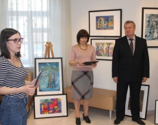 Открылась V Выставка-конкурс творческих работ «Ритмы мегаполиса»
